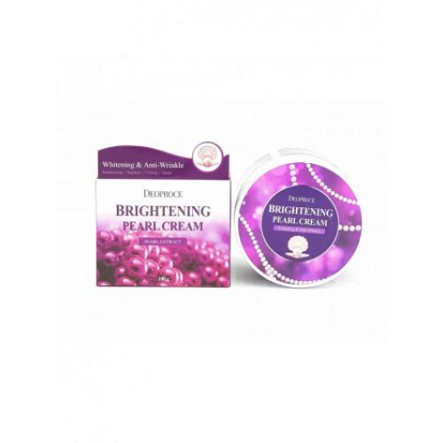 Deoproce Rрем для лица питательный с экстрактом жемчуга Moisture Brightening Pearl Cream