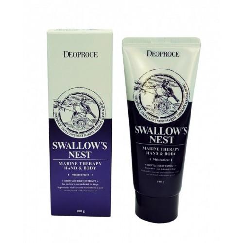 Deoproce Крем для тела и рук с экстрактом ласточкиного гнезда Hand & Body - Swallow's Nest