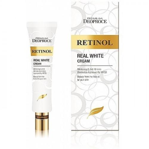Deoproce Крем с ретинолом для век и носогубных складок Premium Retinol Real White Cream