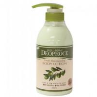 Deoproce Лосьон для тела с экстрактом оливы Well-Being Fresh Moisturizing Olive Body Lotion