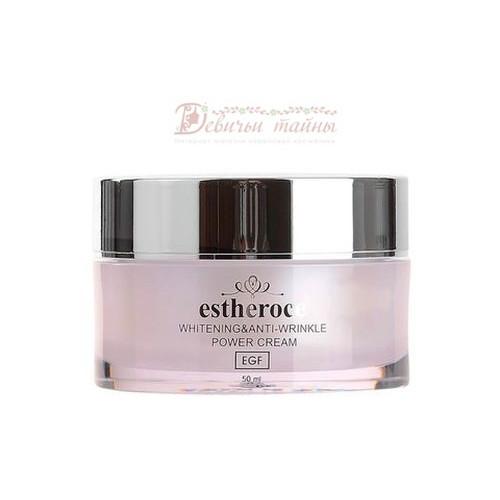 Deoproce Крем для лица омолаживающий с Egf Estheroce Whitening & Anti-Wrinkle Power Cream
