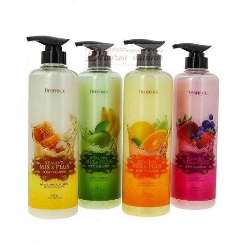 Deoproce Гель для душа Healing Mix & Plus Body Cleanser