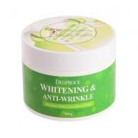 Deoproce Крем для лица увлажняющий с экстрактом огурца Moisture Milk Cucumber Cream