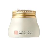 Deoproce Крем для лица с цветочными экстрактами Musevera Pit Pat Cream