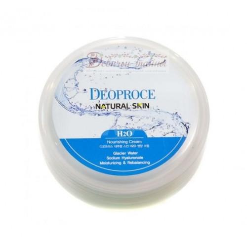 Deoproce Крем для лица и тела увлажняющий Natural Skin H2o Nourishing Cream