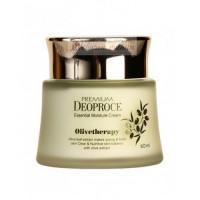 Deoproce Крем увлажняющий с маслом оливы Premium Olivetherapy Essential Moisture Cream