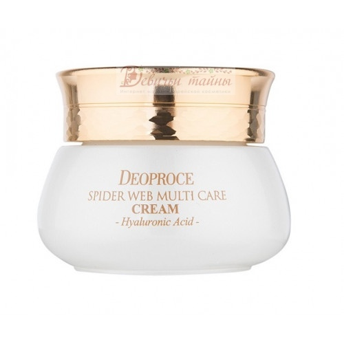Deoproce Крем для лица с протеинами паутины Spider Web Multi-care Cream