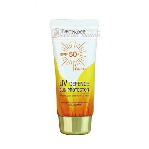 Deoproce Крем солнцезащитный для лица и тела UV Defence Sun Protector SPF50+ PA+++