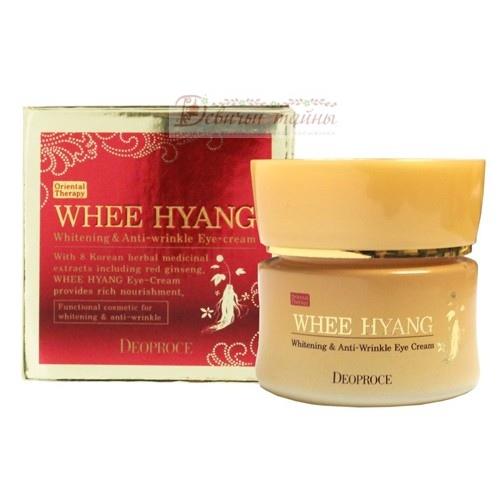 Deoproce Крем для век Whee Hyang Whitening & Anti-Wrinkle Eye Cream