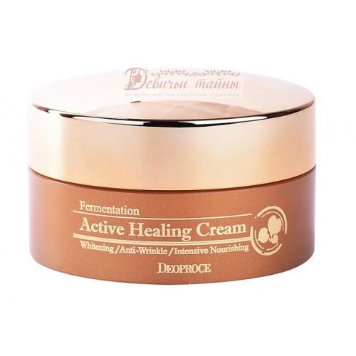 Deoproce крем для лица Fermentation Active Healing Cream