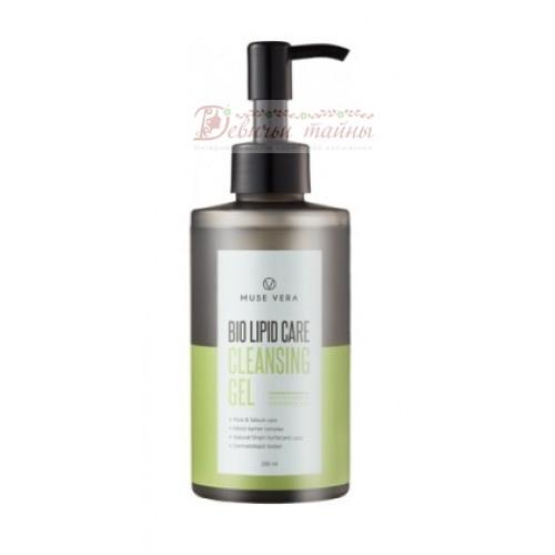 Deoproce Гель для лица очищающий Musevera Bio Lipid Care Cleansing Gel