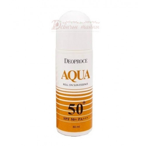 Deoproce Эссенция солнцезащитная роликовая Aqua Roll On Sun Essence