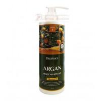 Deoproce Шампунь для волос с аргановым маслом Argan Silky Moisture Shampoo