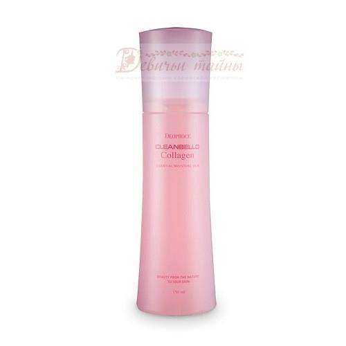 Deoproce Мист для лица увлажняющий Cleanbello Collagen Essential Moisture Skin