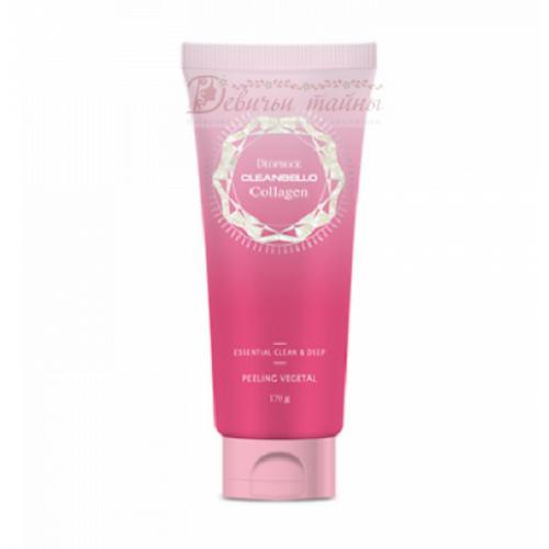 Deoproce Пилинг-Гель Cleanbello Collagen Essential Clean & Deep Peeling Vegetal