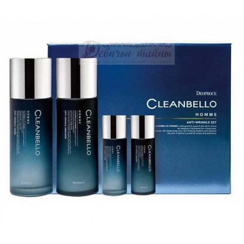 Deoproce Набор уходовый мужской антивозрастной Cleanbello Homme Anti-Wrinkle Set