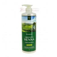 Deoproce Шампунь для волос с зеленым чаем и хной Green Tea Henna Pure Refresh Shampoo
