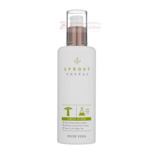 Deoproce Эмульсия для лица с экстрактом ростков баобаба Musevera Sprout Energy Emulsion
