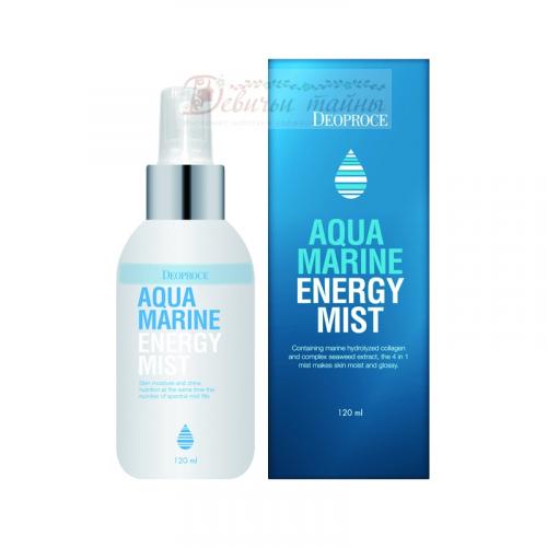 Deoproce Cпрей для лица с морской водой Mist Aqua Marine Energy