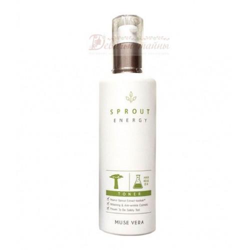 Deoproce Тонер для лица с экстрактом ростков баобаба Musevera Sprout Energy Toner