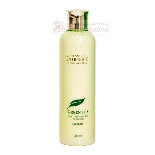 Deoproce Эмульсия для лица с зеленым чаем Premium Green Tea Total Solution Emulsion