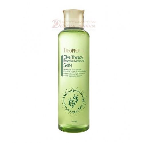 Deoproce Тонер с маслом оливы Premium Olivetherapy Essential Moisture Skin