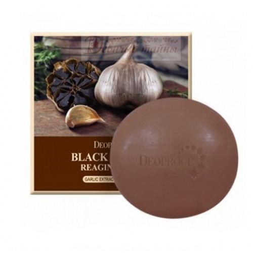 Deoproce мыло с экстрактом черного чеснока soap black garic