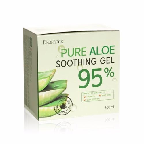 Deoproce Гель для тела алое 95% Pure Aloe Soothing Gel