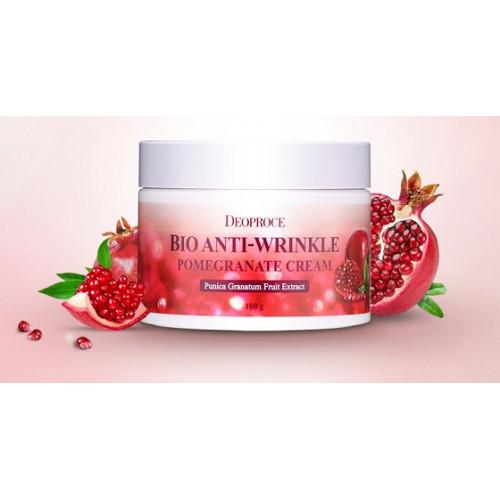 Deoproce Крем для лица с экстрактом граната Bio Anti-Wrinkle Pomegranate Cream