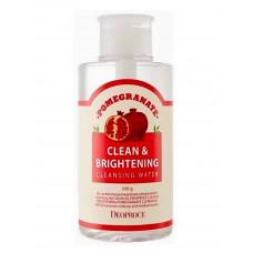 Deoproce Вода очищающая Clean & Brightening Cleansing Water