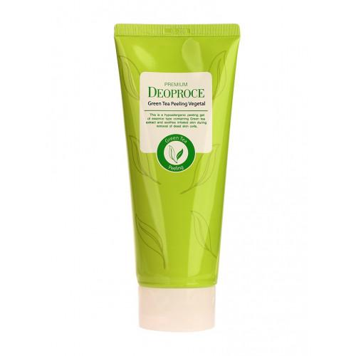 Deoproce Пилинг- скатка на основе зеленого чая Premium Green Tea Peeling Vegetal