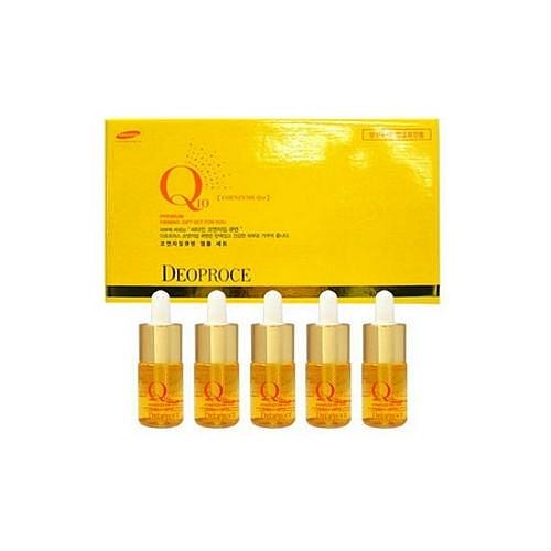 Deoproce Сыворотка ампульная для лица с коэнзим Q10 Coenzyme Q10 Firming Ampoule Set