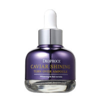 Deoproce Сыворотка для лица с экстрактом икры Caviar Shining Turn Over Ampoule