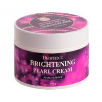 Deoproce Крем для лица питательный с экстрактом жемчуга Moisture Brightening Pearl Cream