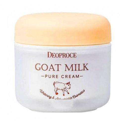 Deoproce Крем для лица с экстрактом козьего молока Goat Milk Pure Cream