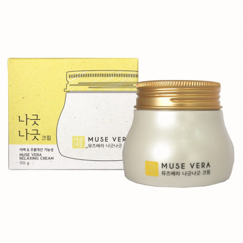 Deoproce Крем для лица с медом и молоком Musevera Relaxing Cream