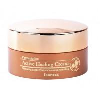 Deoproce Крем для лица питательный Fermentation Active Healing Cream