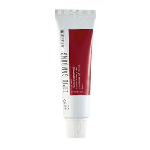 Deoproce Крем восстанавливающий с цинком Musevera Lipid Gamdong Zinc Cera Cream