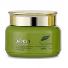 Deoproce Крем на основе зеленого чая Premium Green Tea Total Solution Cream