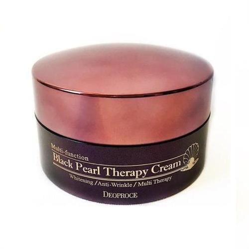 Deoproce Крем для лица с черным жемчугом Black Pearl Therapy Cream