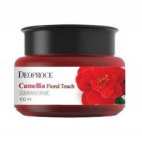 Deoproce бальзам очищающий Camellia Floral Touch Cleansing Balmy