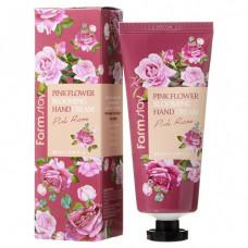 Farmstay Крем для рук Pink Flower Blooming Hand Cream