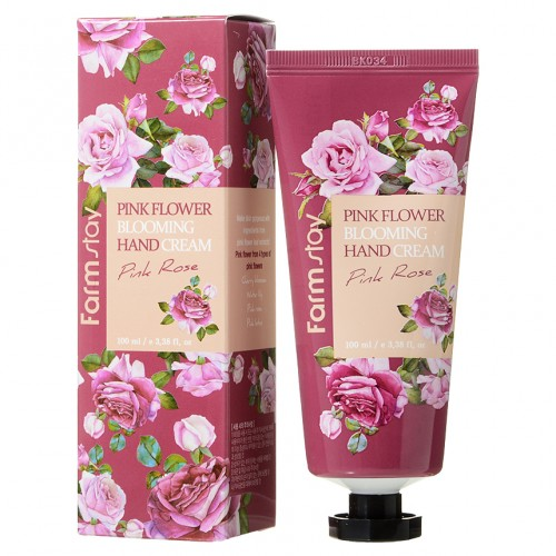 Farmstay Крем для рук Pink Flower Blooming Hand Cream