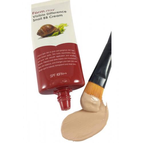 Farmstay Крем ББ с экстрактом улитки Visible Difference Snail BB Cream