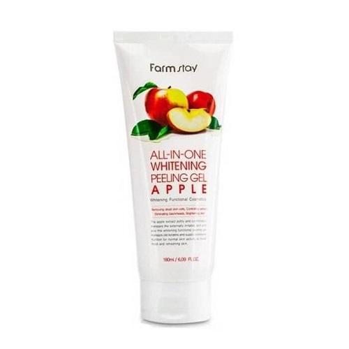 FarmStay Гель-скатка с экстрактом яблока All In One Whitening Peeling Gel Cream Apple