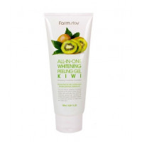 FarmStay Гель-скатка с экстрактом киви All In One Whitening Peeling Gel Cream Kiwi