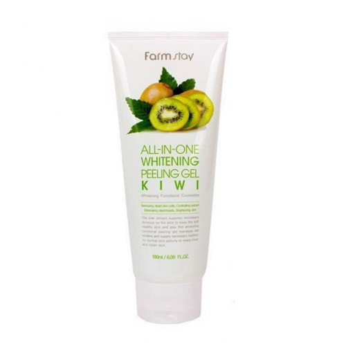Гель-скатка с экстрактом киви All In One Whitening Peeling Gel Cream Kiwi