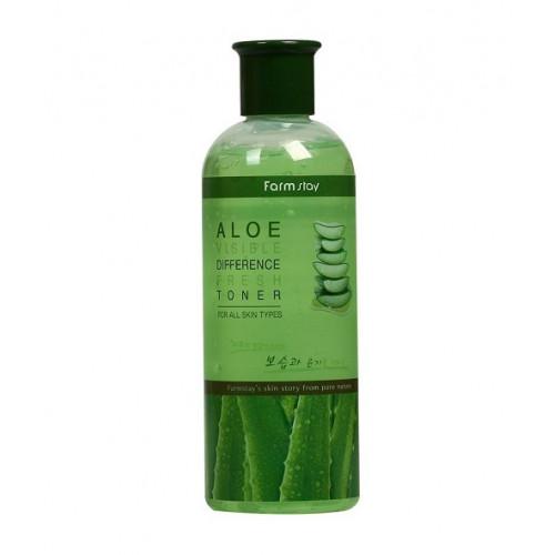 FarmStay Тонер освежающий с экстрактом алое Aloe Visible Difference Fresh Toner