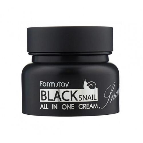 Farmstay Крем для лица с экстрактом черной улитки Black Snail All-in One Cream