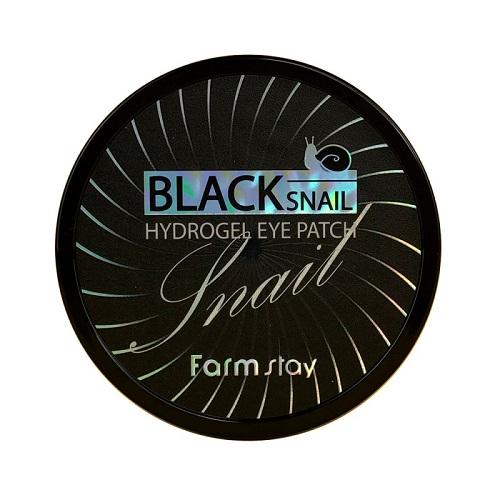 Farmstay Патчи гидрогелевые для области вокруг глаз Black Snail Hydrogel Eye Patch